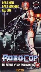 RoboCop - British VHS movie cover (xs thumbnail)