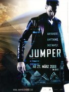 Jumper - German Movie Poster (xs thumbnail)