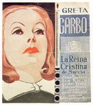 Queen Christina - Spanish Movie Poster (xs thumbnail)