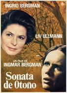 Höstsonaten - Spanish Movie Poster (xs thumbnail)