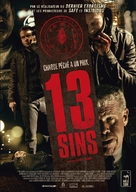13 Sins - French DVD movie cover (xs thumbnail)