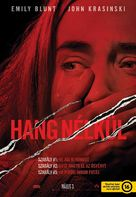 A Quiet Place - Hungarian Movie Poster (xs thumbnail)