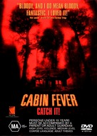 Cabin Fever - Australian DVD movie cover (xs thumbnail)
