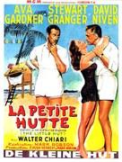 The Little Hut - Belgian Movie Poster (xs thumbnail)