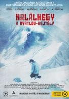 The Dyatlov Pass Incident - Hungarian Movie Poster (xs thumbnail)