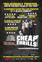 Cheap Thrills - British Movie Poster (xs thumbnail)