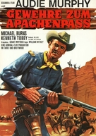 40 Guns to Apache Pass - German Movie Poster (xs thumbnail)