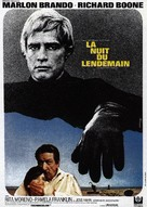 The Night of the Following Day - French Movie Poster (xs thumbnail)