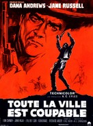 Johnny Reno - French Movie Poster (xs thumbnail)