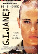 G.I. Jane - British Movie Poster (xs thumbnail)