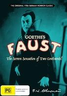 Faust - Australian DVD movie cover (xs thumbnail)