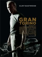Gran Torino - Danish Movie Poster (xs thumbnail)