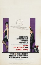How to Steal a Million - Theatrical poster (xs thumbnail)