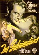 Cloak and Dagger - German Movie Poster (xs thumbnail)