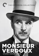 Monsieur Verdoux - DVD movie cover (xs thumbnail)