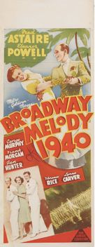 Broadway Melody of 1940 - Australian Movie Poster (xs thumbnail)