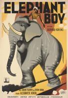 Elephant Boy - Swedish Movie Poster (xs thumbnail)