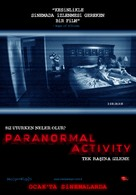 Paranormal Activity - Turkish Movie Poster (xs thumbnail)