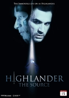 Highlander: The Source - Norwegian DVD cover (xs thumbnail)