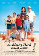 Les vacances du petit Nicolas - German Movie Poster (xs thumbnail)