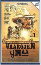 """""""Lonesome Dove"""" - Finnish VHS movie cover (xs thumbnail)"""
