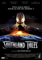 Southland Tales - French DVD cover (xs thumbnail)