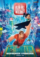 Ralph Breaks the Internet - Swedish Movie Poster (xs thumbnail)