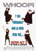 Sister Act 2: Back in the Habit - Spanish Movie Poster (xs thumbnail)
