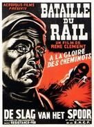 La bataille du rail - Belgian Movie Poster (xs thumbnail)