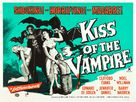 The Kiss of the Vampire - British Movie Poster (xs thumbnail)