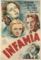 These Three - Argentinian Movie Poster (xs thumbnail)