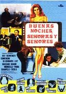 Signore e signori, buonanotte - Spanish Movie Poster (xs thumbnail)