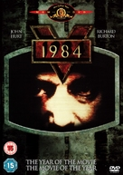 Nineteen Eighty-Four - British DVD movie cover (xs thumbnail)