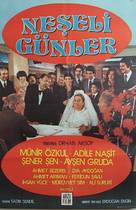 Neseli günler - Turkish Movie Poster (xs thumbnail)