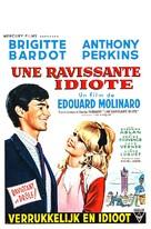 Une ravissante idiote - Belgian Movie Poster (xs thumbnail)
