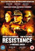 Resistance - British DVD cover (xs thumbnail)