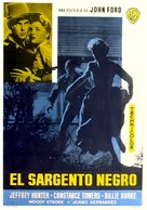 Sergeant Rutledge - Spanish Movie Poster (xs thumbnail)
