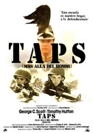 Taps - Spanish Movie Poster (xs thumbnail)