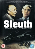Sleuth - British DVD movie cover (xs thumbnail)