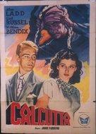 Calcutta - Italian Movie Poster (xs thumbnail)