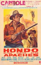 Hondo and the Apaches - Belgian Movie Poster (xs thumbnail)