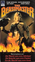 The Beastmaster - German VHS movie cover (xs thumbnail)