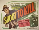 Shoot to Kill - Movie Poster (xs thumbnail)