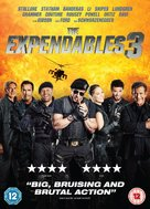 The Expendables 3 - British DVD movie cover (xs thumbnail)