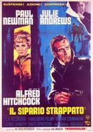 Torn Curtain - Italian Movie Poster (xs thumbnail)
