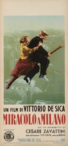 Miracolo a Milano - Italian Theatrical poster (xs thumbnail)