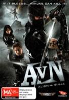 Alien vs. Ninja - Australian DVD movie cover (xs thumbnail)