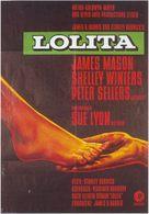 Lolita - German Movie Poster (xs thumbnail)
