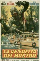 Revenge of the Creature - Italian Movie Poster (xs thumbnail)