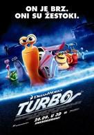 Turbo - Croatian Movie Poster (xs thumbnail)